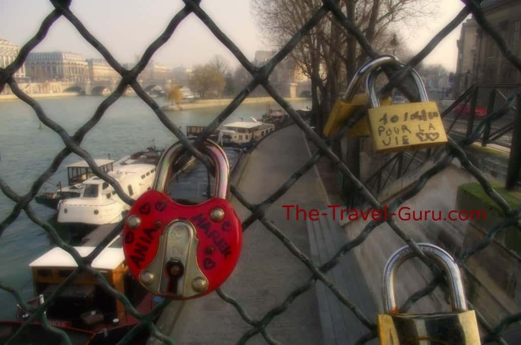 Lock Bridge in Paris