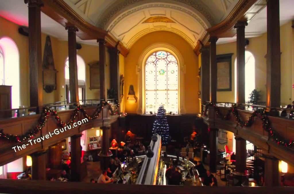 Inside of Church in Dublin, Ireland