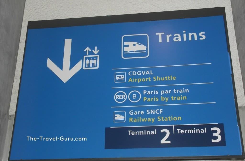 public transportation to Paris