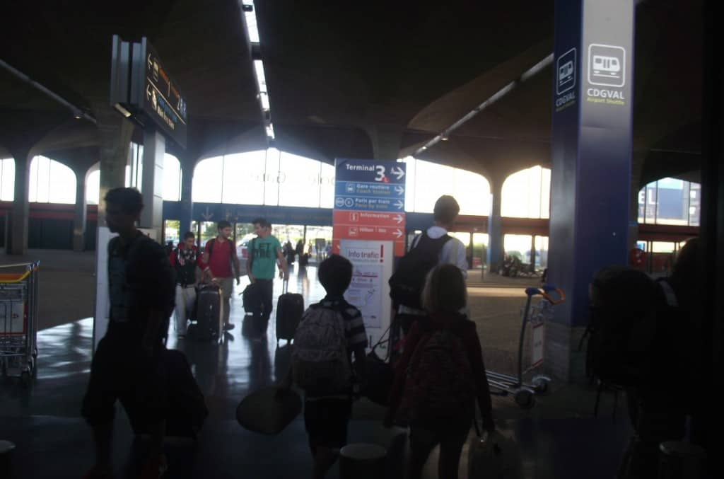 Transportation from Charles De Gaulle airport