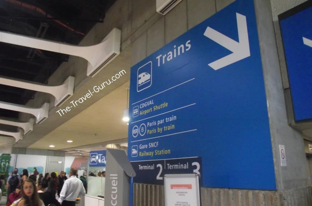 how to get from cdg to montparnasse train station