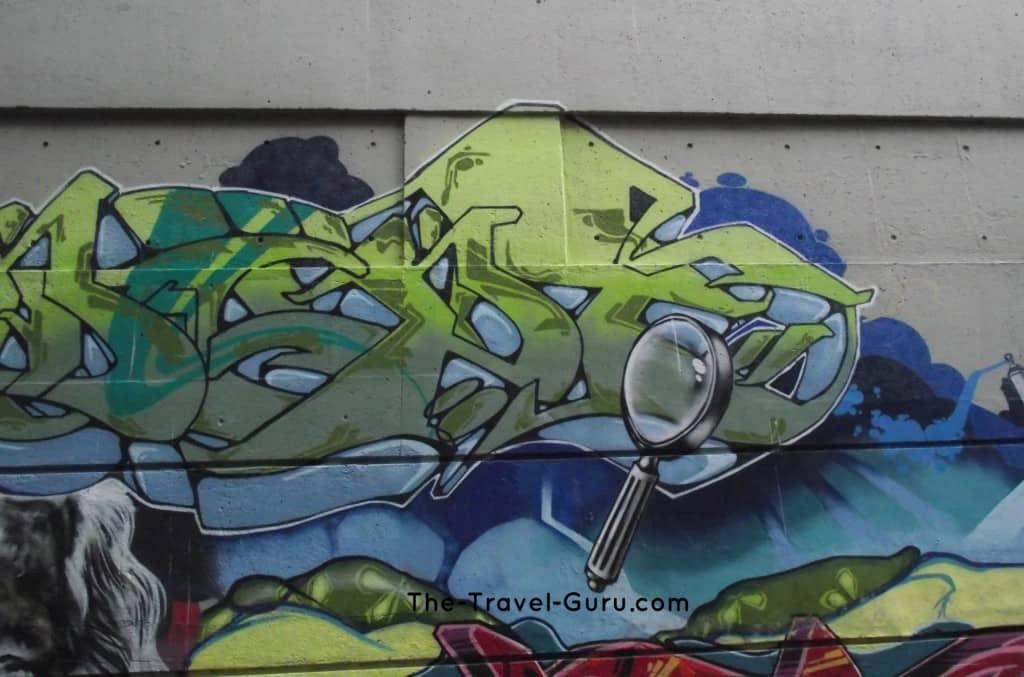street art in Vancouver