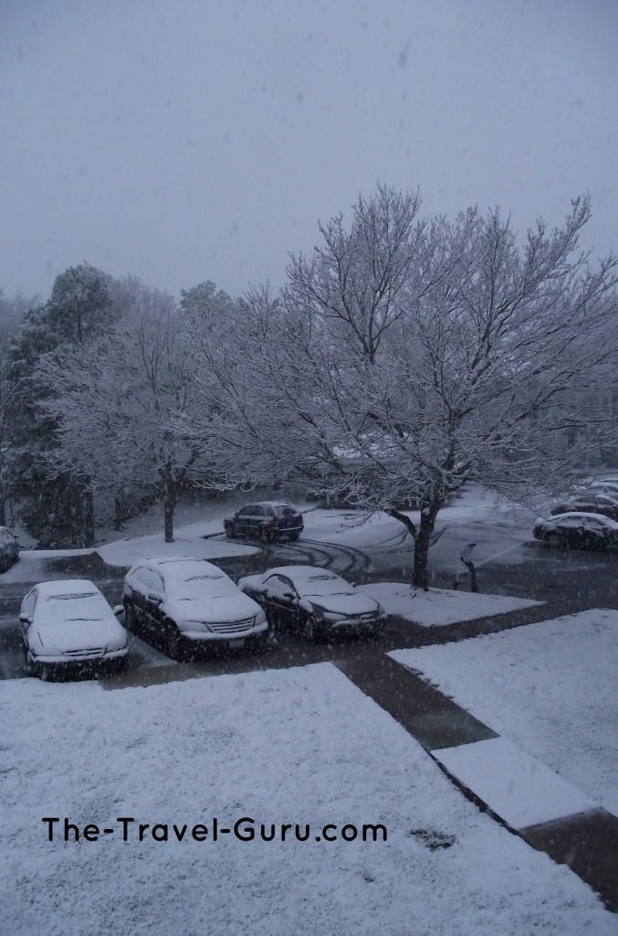 snow in charlotte