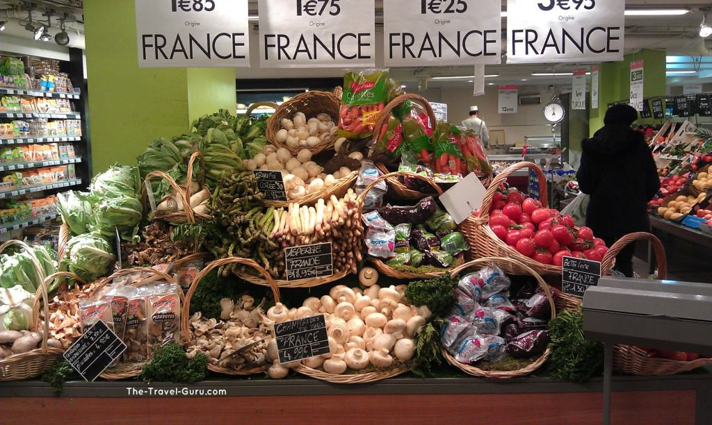 French grocery store