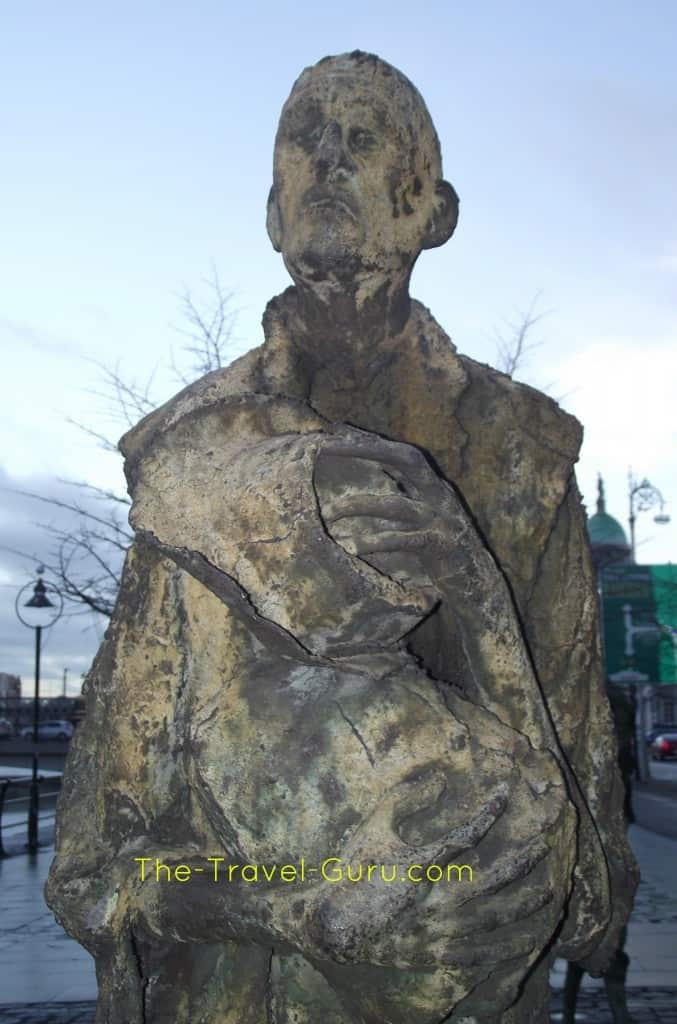 Famine statues in dublin