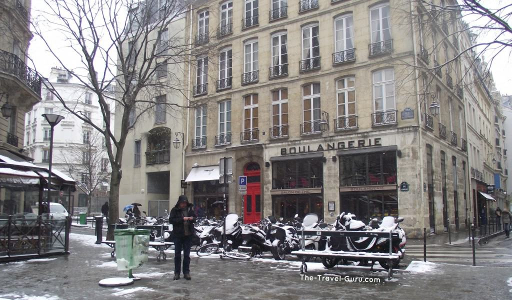 does it snow in paris