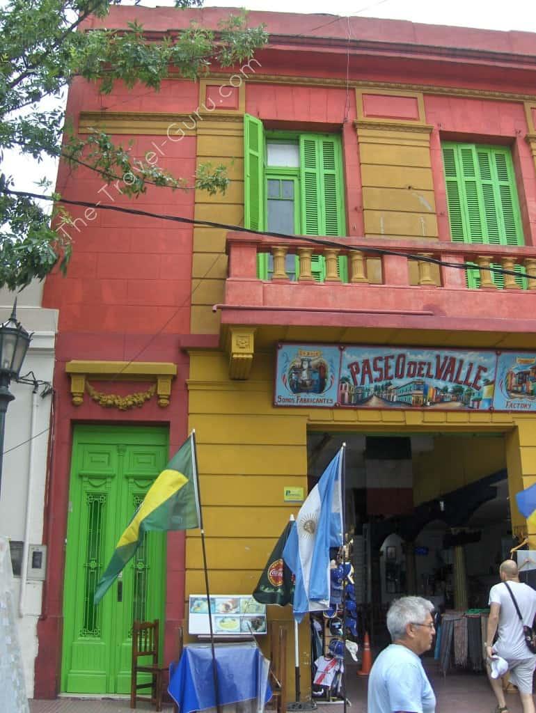 La Boca en Buneos Aires