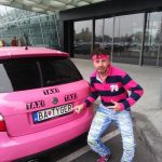 Have You Ever Ridden In A Pink Taxi With A Tiger On The Front?