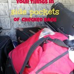 Why You Shouldn't Pack Things In The Side Pockets Of Your Checked Bags