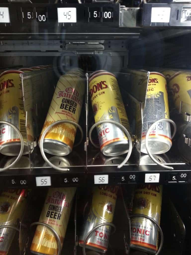 vending machine ireland