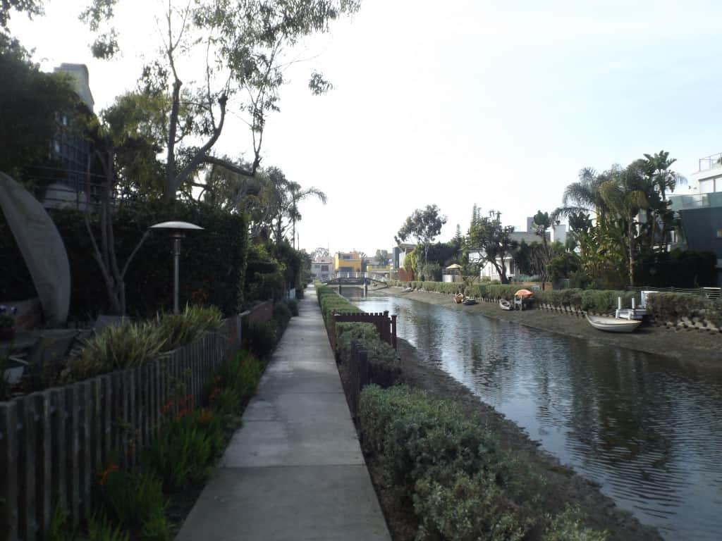 Canals In Venice Beach