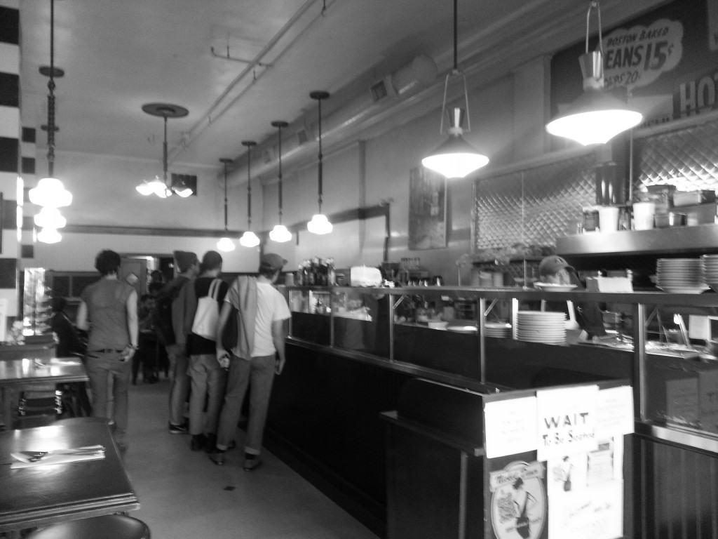 Breakfast In Downtown Los Angeles - Nickel Diner