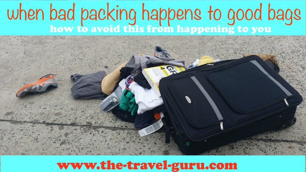 Packing A Checked Bag - What NOT To Do