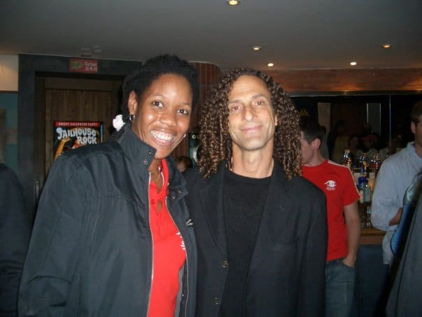 Kenny G & me at Special Olympics after party