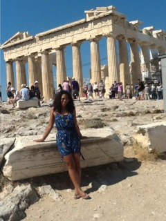 Me and athenas temple