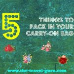 5 Things To Pack In Your Carry-On Bag