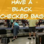 Why You Shouldn't Have A Black Checked Bag