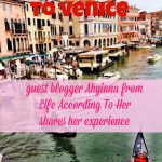 Solo Travel To Venice