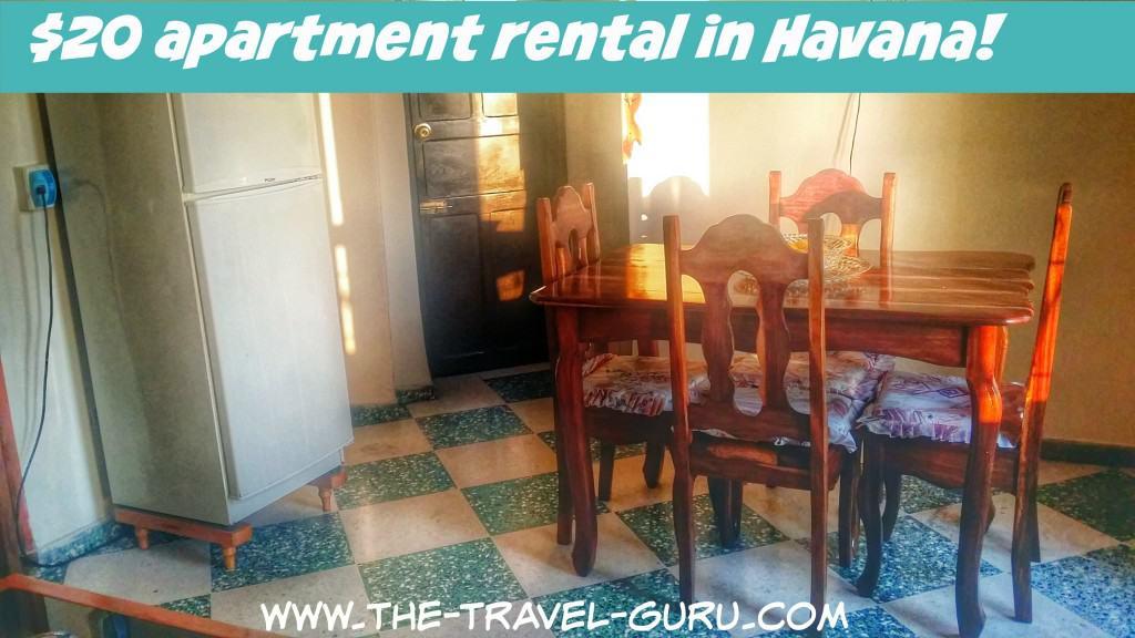 apartmentrentalHavana