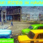Taxi Rides In Havana