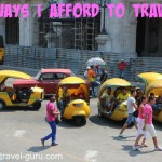 5 Ways I Afford To Travel