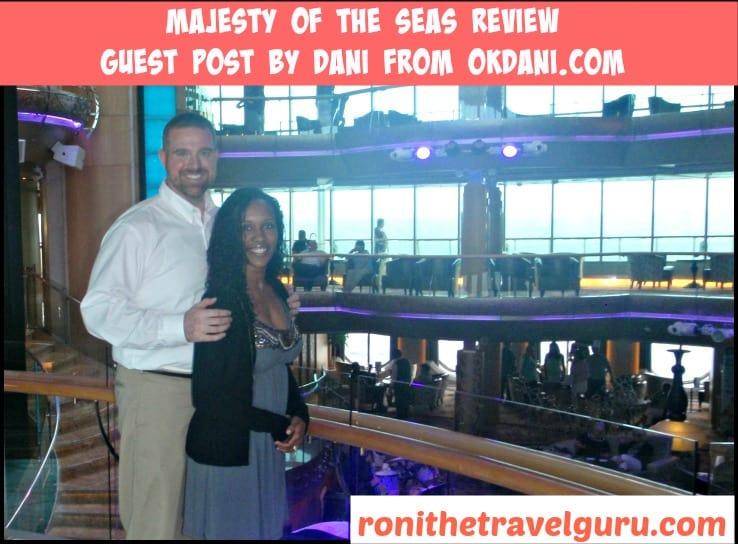 dani and john on cruise
