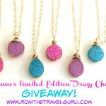 Limited Edition Druzy Summer Choker Giveaway by Vitrine Designs!