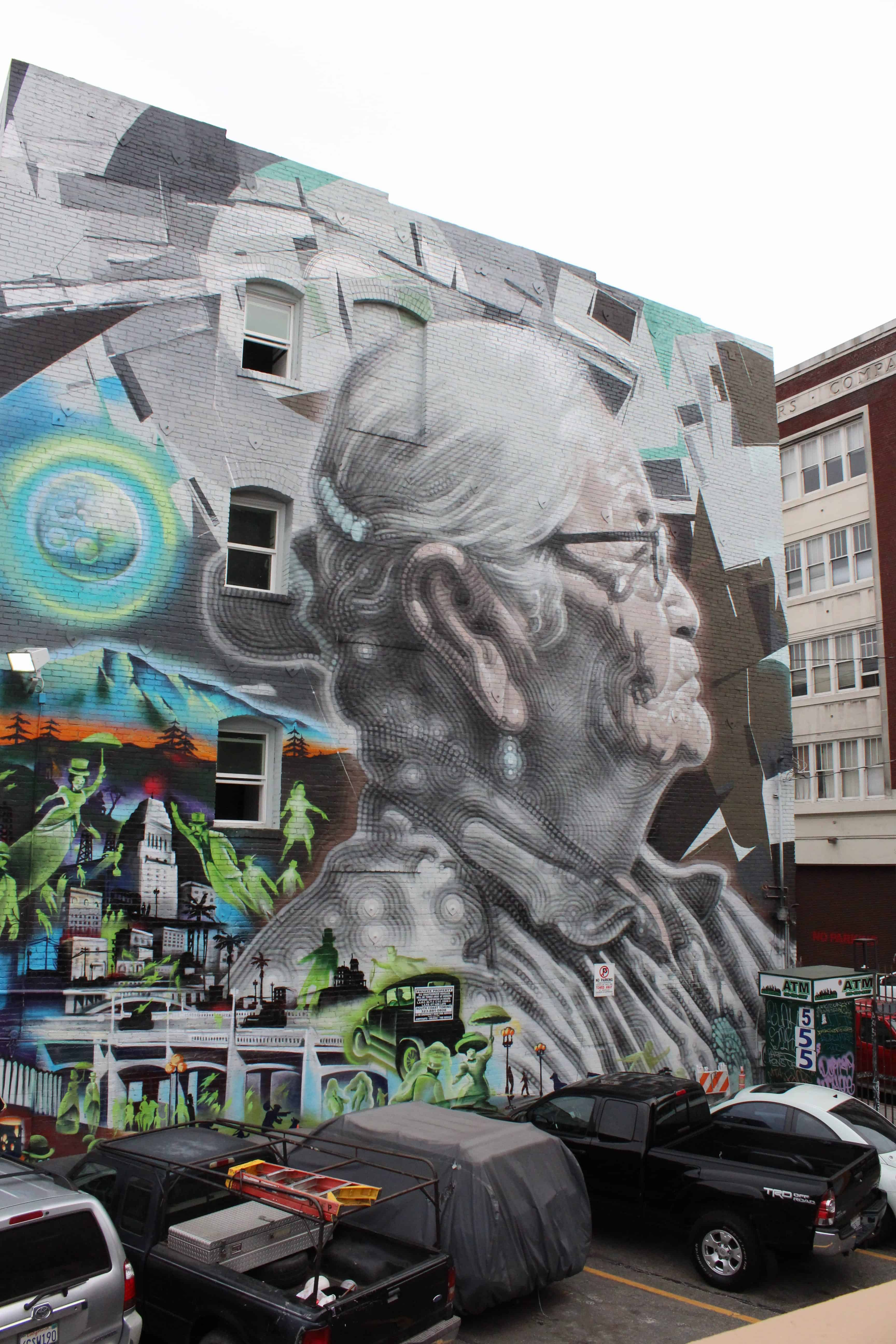 Graffiti In The Arts District