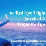 10 Red Eye Flight Survival & Etiquette Tips