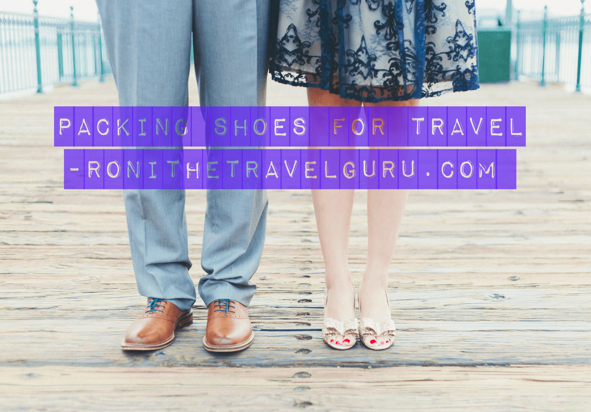 packing shoes for travel