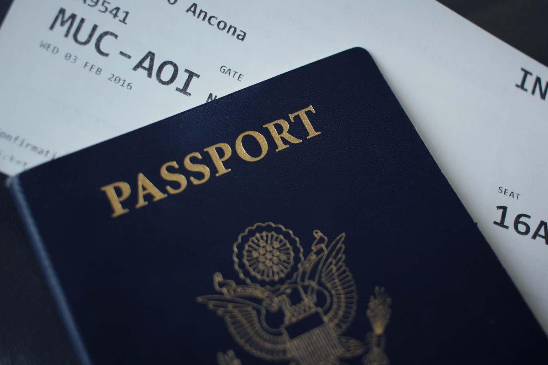 Booking error fares to travel - passport
