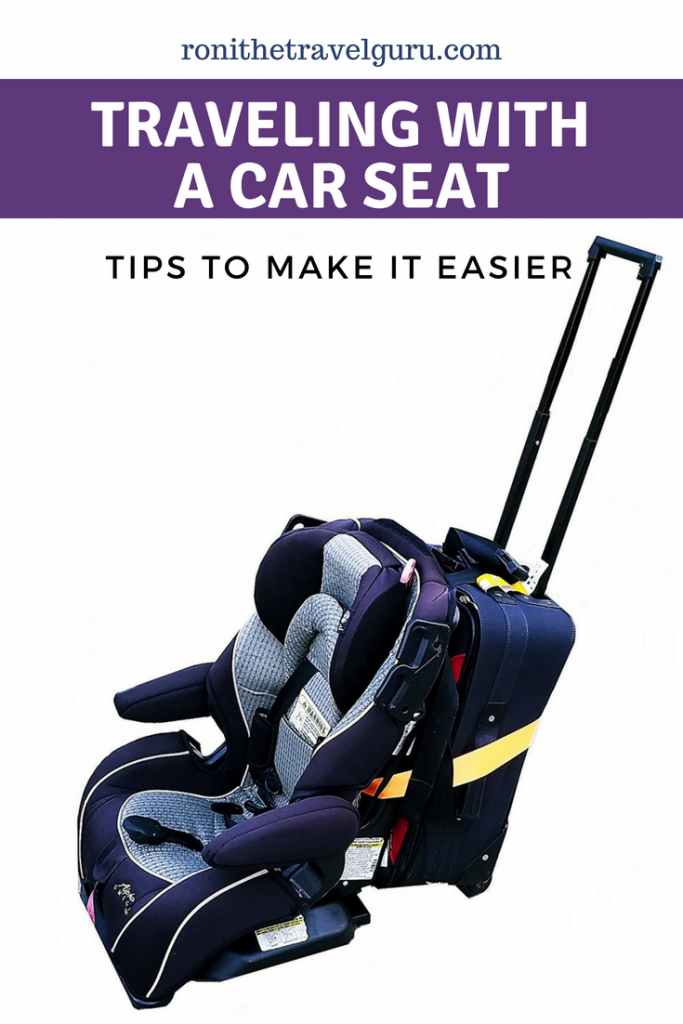 Flying with Baby bringing your car seat with you