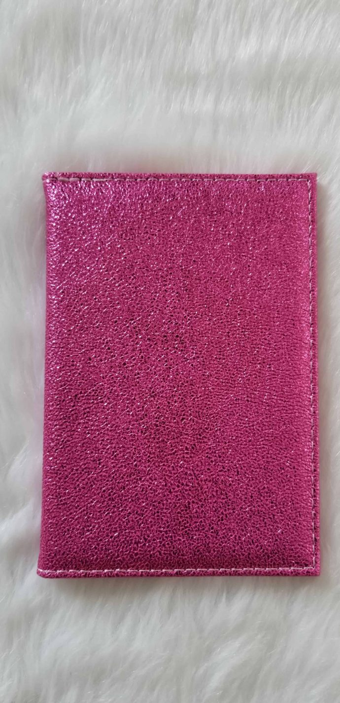Dark Pink Passport Cover