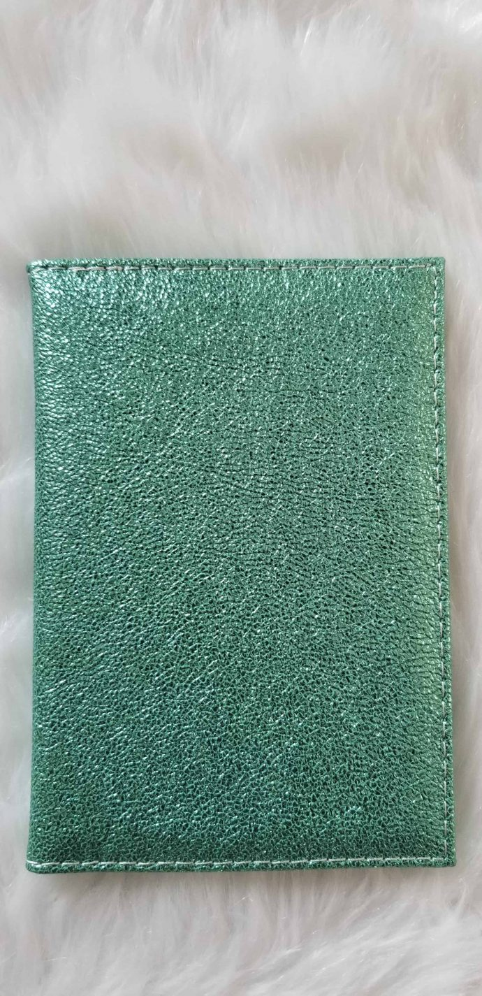 Light Green Passport Cover