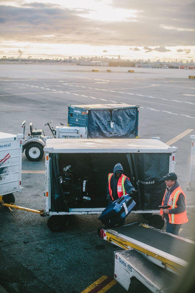 connecting flights baggage