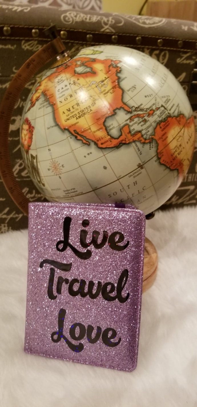 Live Travel Love Passport Cover
