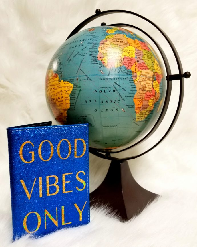 Good Vibes Only Passport Cover