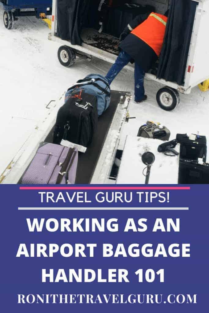 airport baggage handler